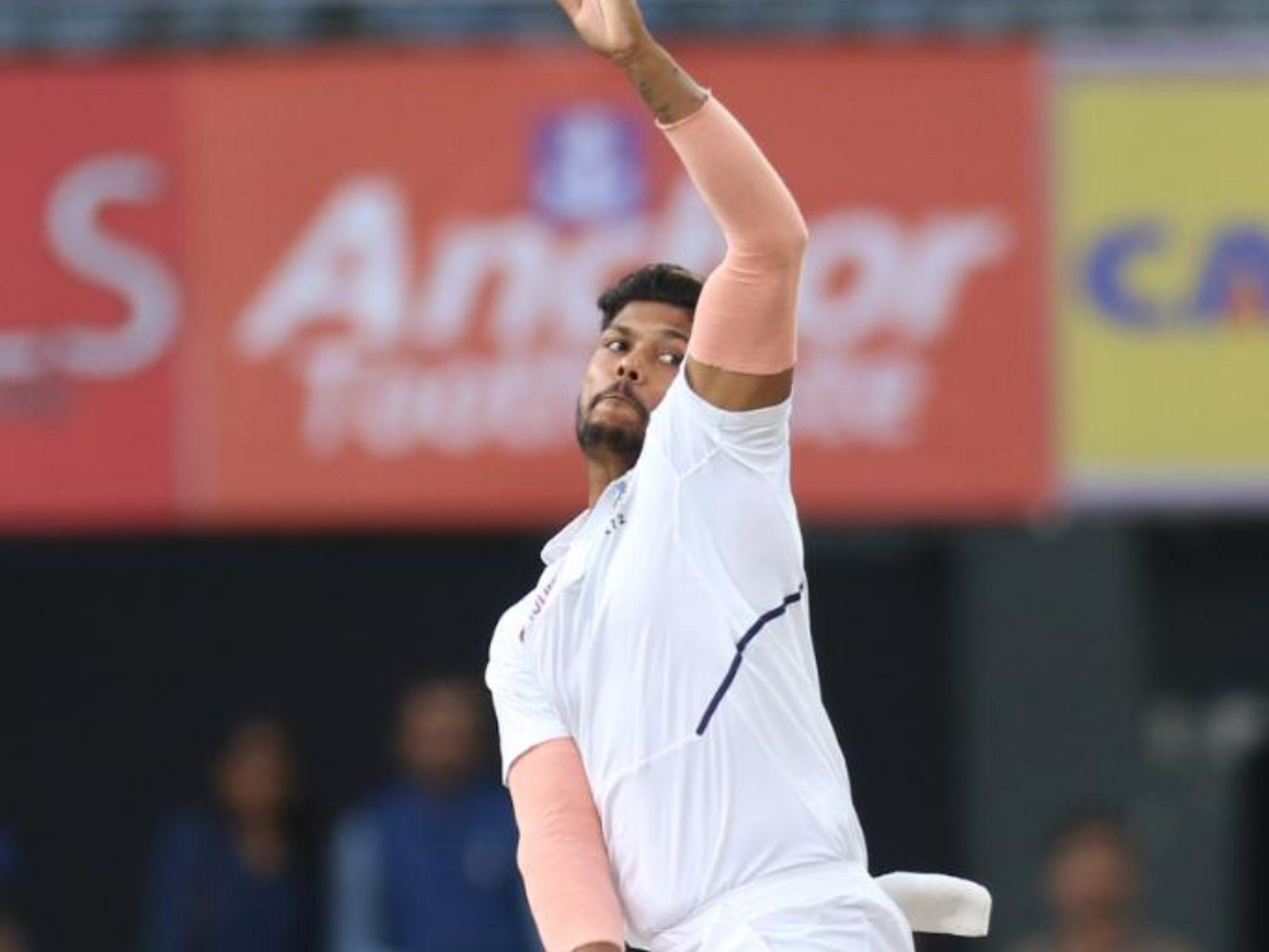 Umesh Yadav in test vs South Africa at Ranchi
