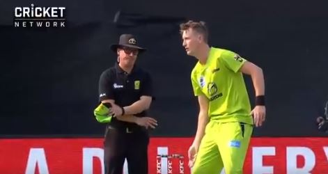 Fake Mankading by Chris Morris in Big Bash League