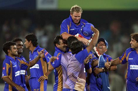 Shane Warne, first team to win IPL, first ipl winning team, ipl 2008 winner, ipl 2008 winning team